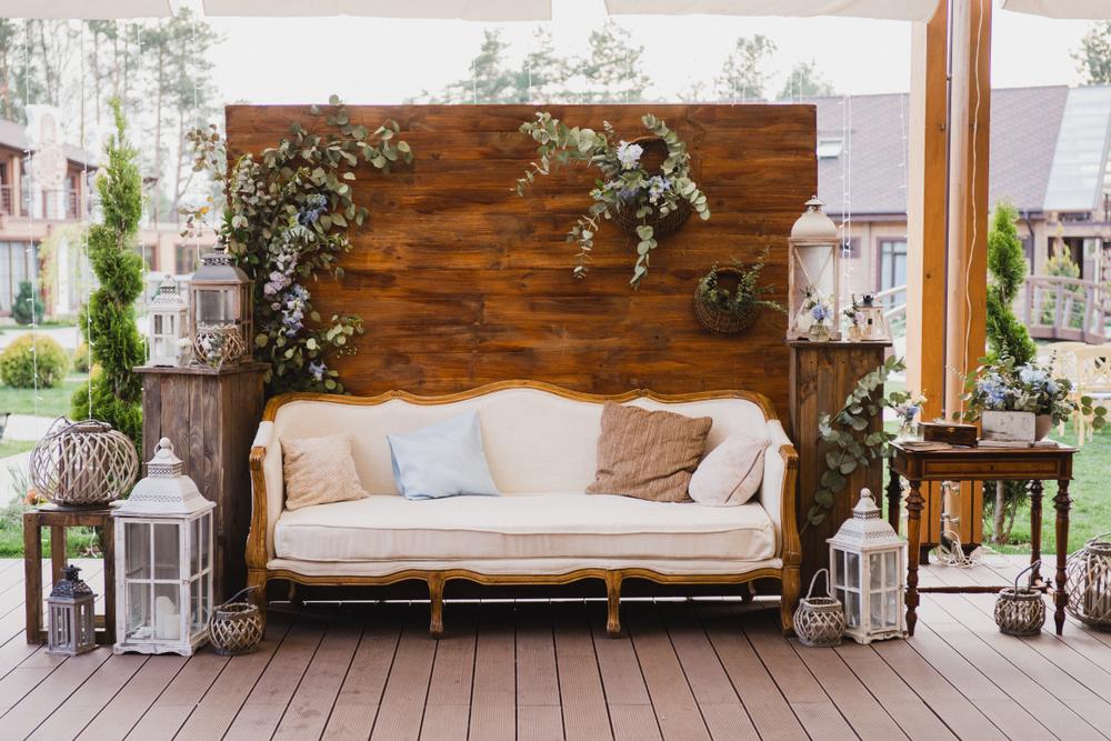 Hochzeitstrend Wedding-Lounge