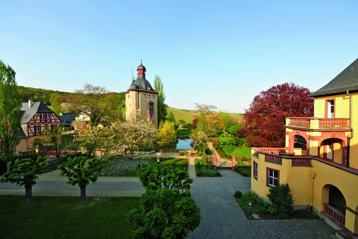 Locationbesichtigung Schloss Vollrads